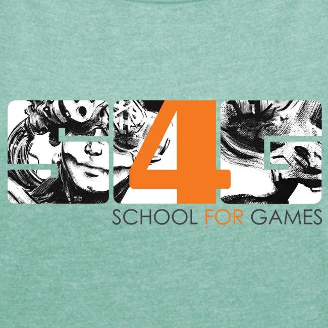 """Student Art"" T-Shirt Girl"