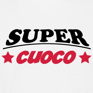 Super cuoco 111 T-shirts - Herre-T-shirt