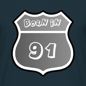 Born in 91 Monochrome - T-shirt Homme
