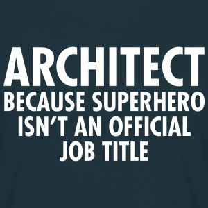 Architect - Superhero T-shirts - Herre-T-shirt