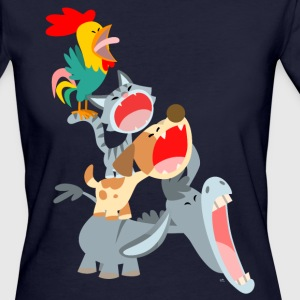 Bremen Town Musicians by Cheerful Madness!! T-Shirts - Women's Organic T-shirt