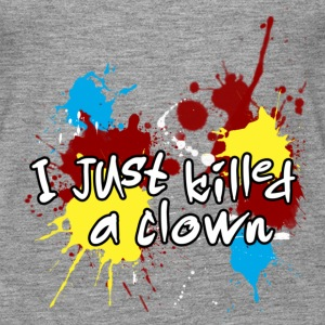 I HAVE KILLED A CLOWN Tops - Women's Premium Tank Top