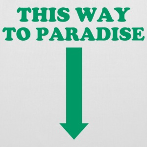 THIS WAY TO PARADISE Borse & zaini - Borsa di stoffa