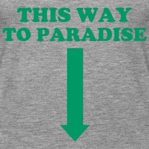 THIS WAY TO PARADISE Top - Canotta premium da donna