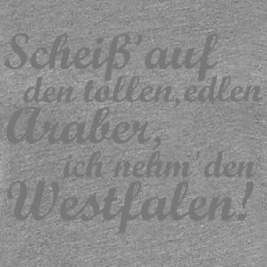 Araber Westfale T-Shirts - Frauen Premium T-Shirt