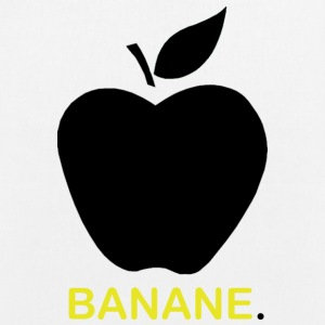 Banana or apple? Borse & zaini - Borsa ecologica in tessuto