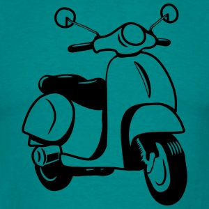 Motor  Scooter T-shirts - Mannen T-shirt