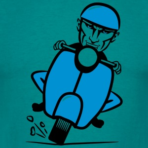 Scooter racing grappig T-shirts - Mannen T-shirt