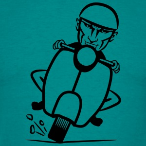 Scooter racing sjovt T-shirts - T-shirt herr