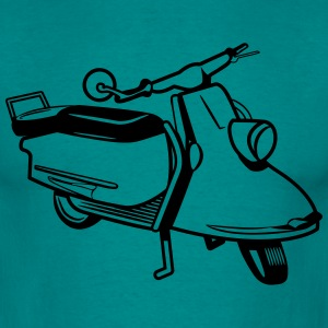 Scooter vintage T-shirts - Mannen T-shirt