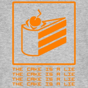 THE CAKE IS A LIE T-Shirts - Men's Organic T-shirt