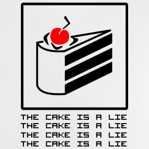 THE CAKE IS A LIE Camisetas - Camiseta bebé
