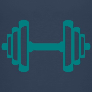 Dumbbell cast iron bodybuilding 2 Shirts - Kids' Premium T-Shirt