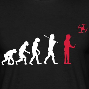 The drone evolution Camisetas - Camiseta hombre