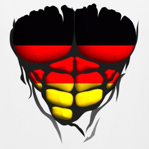 Germany flag torso body muscle abdos Sports wear - Men's Premium Tank Top