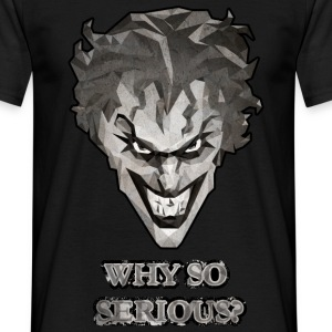 Joker - Why so serious mannen T-shirt - Mannen T-shirt