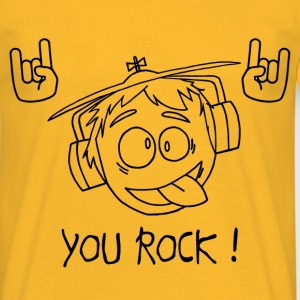 You rock Tee shirts - T-shirt Homme
