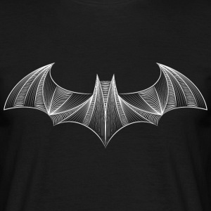Batman Logo Drawing T-skjorte - T-skjorte for menn