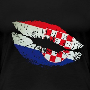 Mouth Croatia T-Shirts - Frauen Premium T-Shirt