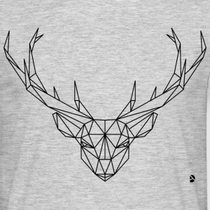 AD Geometric Deer T-shirts - Herre-T-shirt