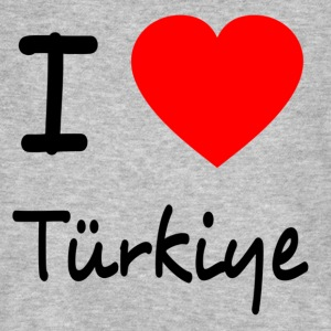 I LOVE TURKEY T-Shirts - Men's Organic T-shirt