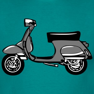 Scooter vrijheid T-shirts - Mannen T-shirt