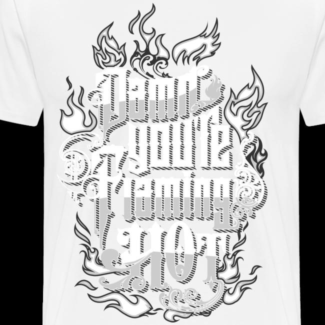 Flaming Hot (White) (unisex)