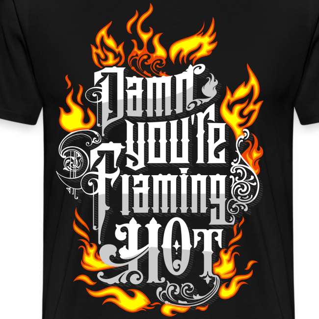 Flaming Hot (Color) (unisex)