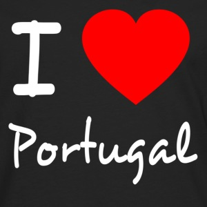 I LOVE PORTUGAL Manches longues - T-shirt manches longues Premium Homme