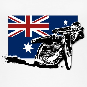 Speedway - Australia Flag Tops - Women's Organic Tank Top