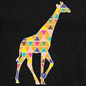 A colorful graphic Giraffe Hoodies & Sweatshirts - Women's Boat Neck Long Sleeve Top