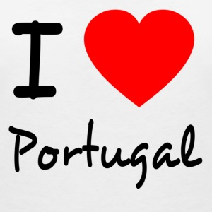 I LOVE PORTUGAL T-Shirts - Women's V-Neck T-Shirt