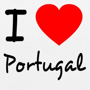 I LOVE PORTUGAL Bags & Backpacks - EarthPositive Tote Bag