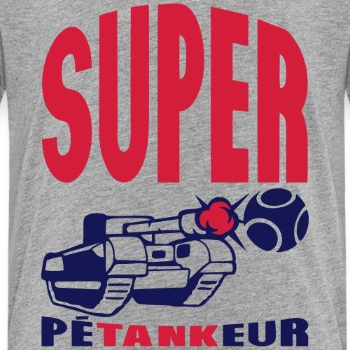 super petankeur tank petanque boule tire