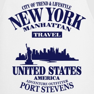 New York Skyline - United States  Aprons - Cooking Apron