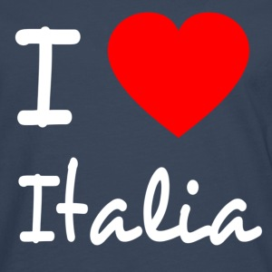 I LOVE ITALY Long sleeve shirts - Men's Premium Longsleeve Shirt