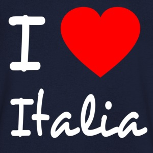 I LOVE ITALY Tee shirts - T-shirt Homme col V