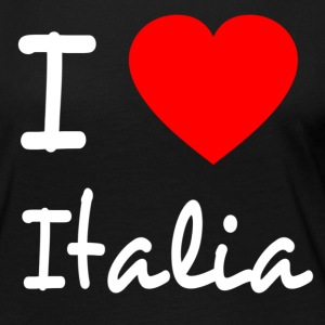 I LOVE ITALY Long Sleeve Shirts - Women's Premium Longsleeve Shirt
