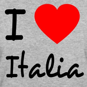 I love Italia T-Shirts - Frauen Bio-T-Shirt