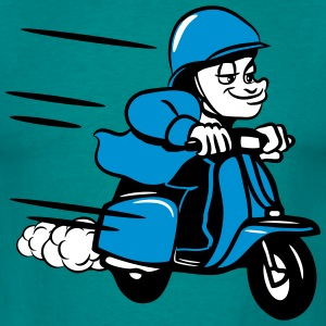 Scooter ride comic humorous T-Shirts - Men's T-Shirt