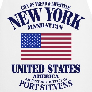 New York  - United States Flag  Aprons - Cooking Apron