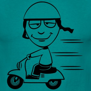 stom grappig Scooter T-shirts - Mannen T-shirt