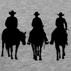 Trio - Western riding T-skjorter - Premium T-skjorte for menn