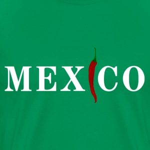 Mexico with chili T-Shirts - Men's Premium T-Shirt
