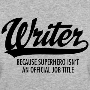 Writer - Superhero T-shirts - Organic damer