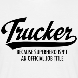 Trucker - Superhero T-shirts - Mannen T-shirt
