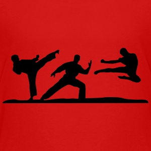 Martial Arts - 3 Fighters Shirts - Teenager Premium T-shirt