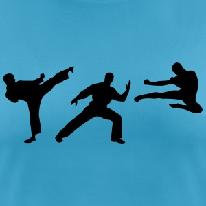 Martial Arts - 3 Fighters T-shirts - vrouwen T-shirt ademend