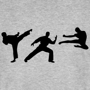 Martial Arts - 3 Fighters Magliette - T-shirt ecologica da uomo