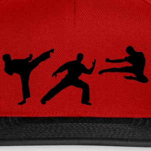 Martial Arts - 3 Fighters Casquettes et bonnets - Casquette snapback